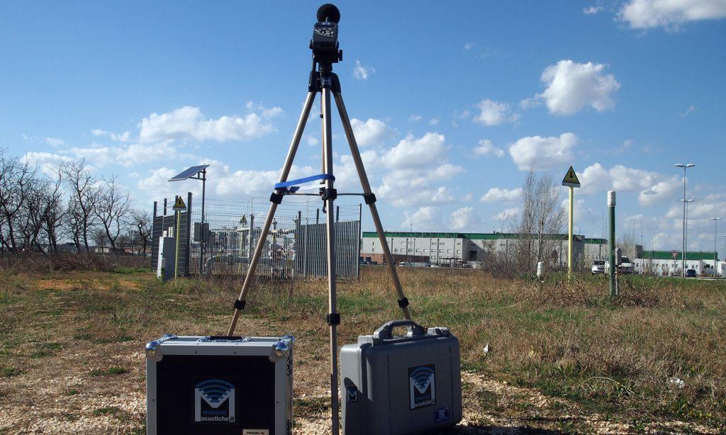 valutazione di clima acustico con rilievi fonometrici e misurazioni acustiche, misurazione del rumore prodotto dalle sorgenti sonore nel territorio